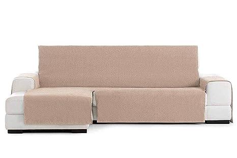 Jarrous Funda Cubre Chaise Longue Práctica Impermeable Modelo Córdoba, Color Beige-01, Medida Brazo Derecho – 290cm (Mirándolo de Frente)