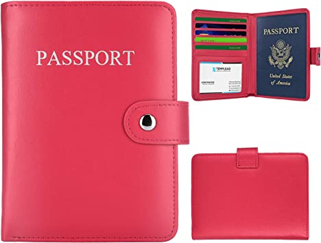 New Clear Transparent Passport Cover Holder Case Organizer ID Card Protector IL