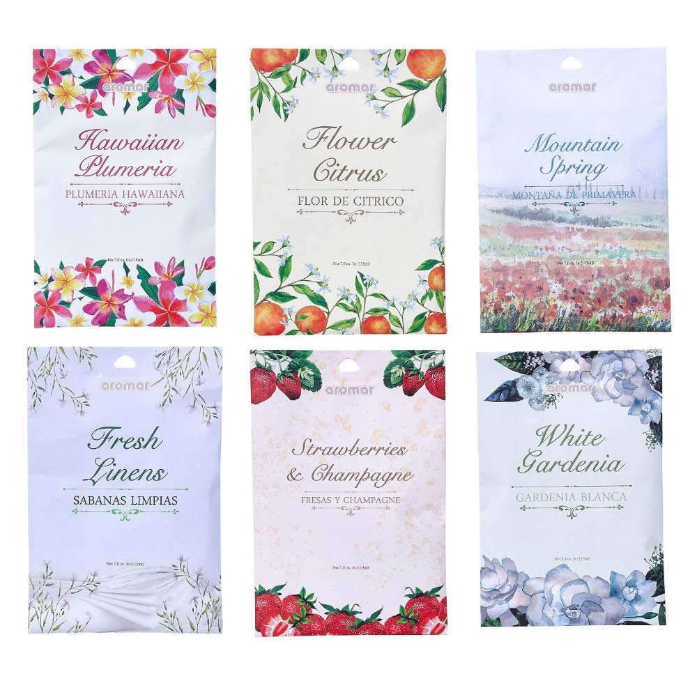 10 Scented Fragrance Sachet Pouch Air Freshener Wardrobe Home Drawer Perfume Bag by AllTopBargains (Image #4)