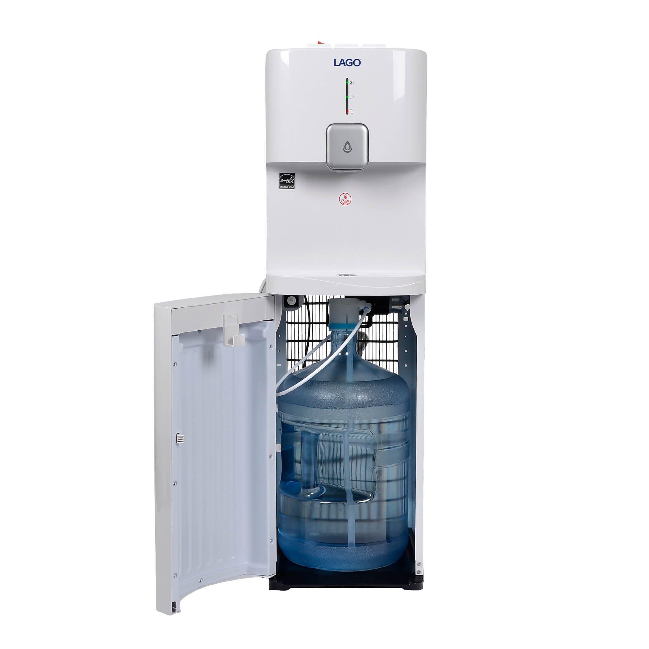 Lago CLBL200 Bottom Load Hot, Cold & Room White Water Cooler Dispenser