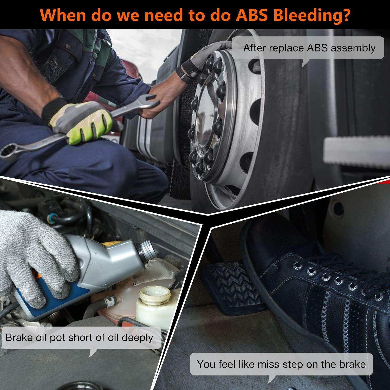 NT630 Elite OBD2 Scanner ABS SRS Code Reader Automotive OBD II ABS