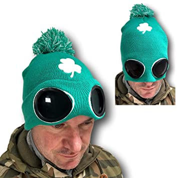 St Patricks Day Green Top Hat Irish Leprechaun Fancy Dress Party ... f5d5495609ae