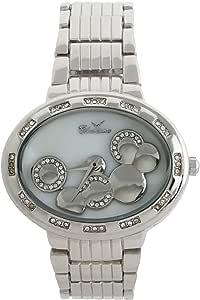 كاريزما ساعة يد كاجوال للنساء، بسوار من ستانلس ستيل ، C5669A