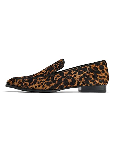 f6fa88f7594 Zara Women s Animal Print Leather Loafers 1509 001 Brown  Amazon.co ...