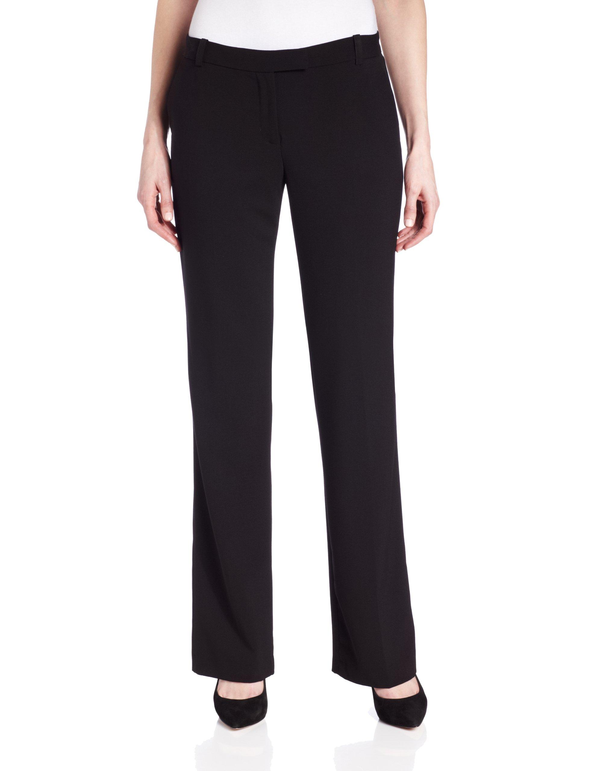 Calvin Klein Women's Madison Pant ,Black,16