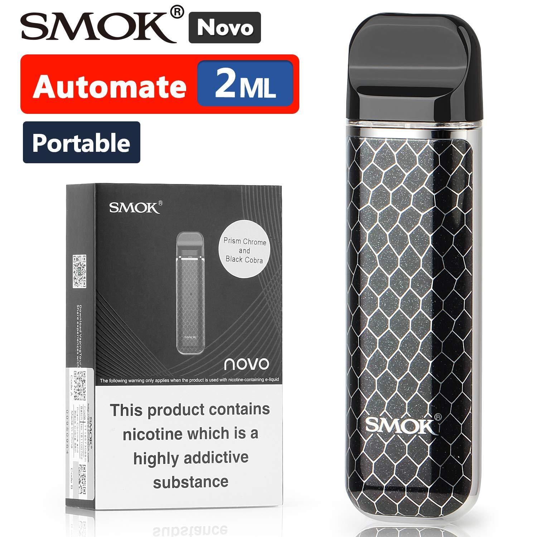 Official SMOK Novo 2ml E Cigarettes Vape Starter Kit, Portable Refillable  Pod System, 2X Pods Smooth Vapor, Mini ecigarette 1 5ohm MTL Vaping, Ecig  No