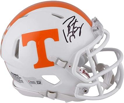Peyton Manning Tennessee Volunteers Autographed Riddell Speed Mini Helmet -  Fanatics Authentic Certified 4881c7b15