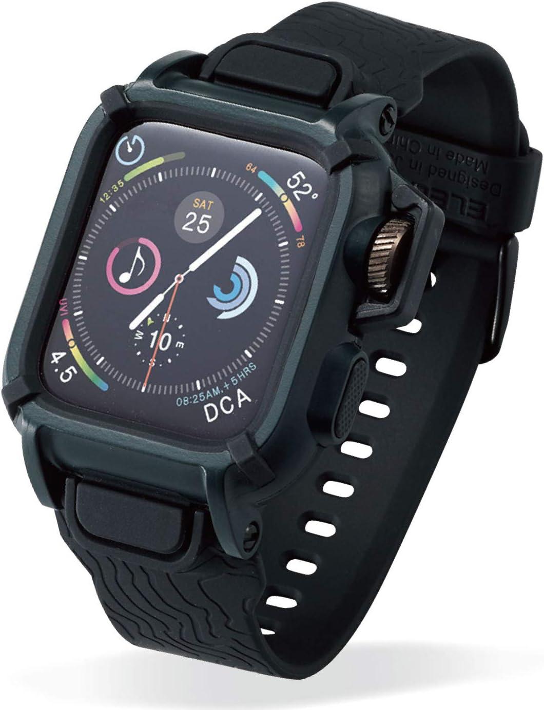 エレコム『Apple Watch用バンドケース AW-44BCNESTKH』