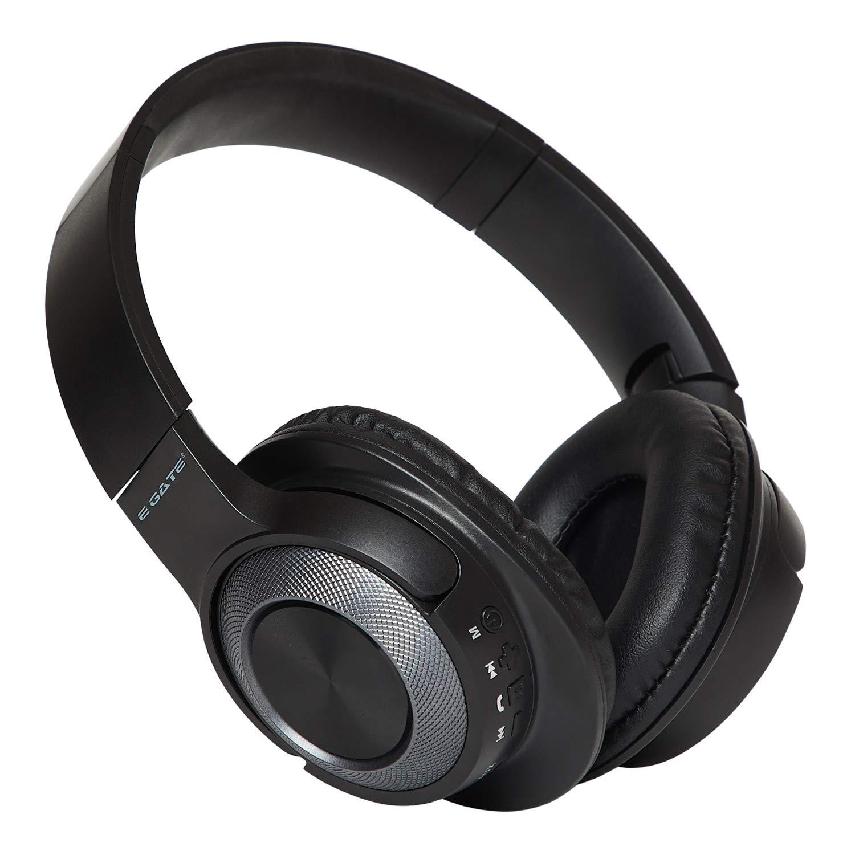 Egate Tornado 405 On-Ear Wireless Bluetooth Headphone with Mic (Grey)