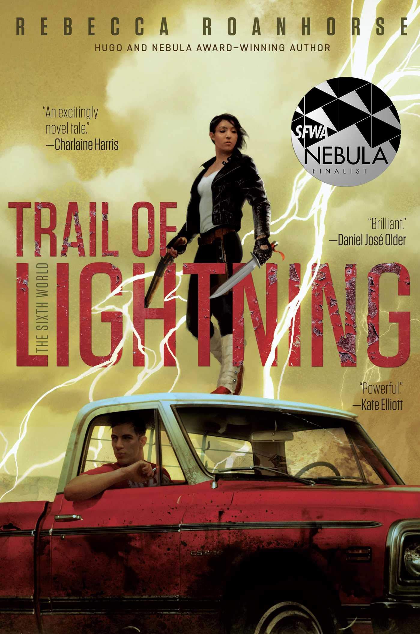 Image result for Rebecca Roanhorse: Trail of Lightning.
