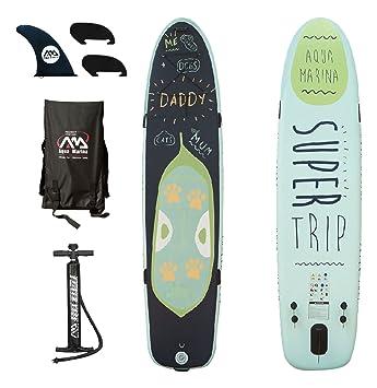 Aqua Marina super viaje 2 + 1 familia Paddle Surf inflable para junta: Amazon.es: Deportes y aire libre