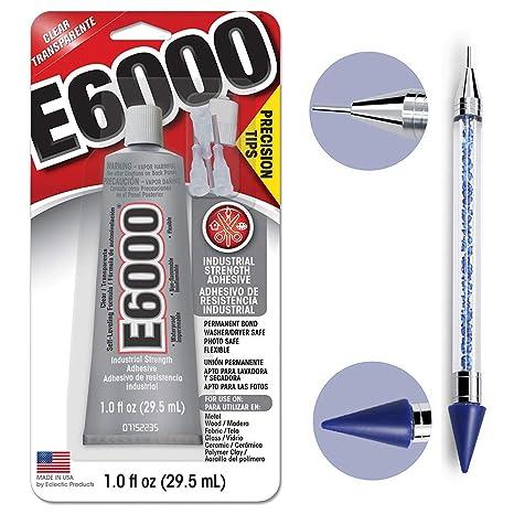 Amazon.com: Bundle - Tubo E6000 de 29,5 ml con puntas de ...