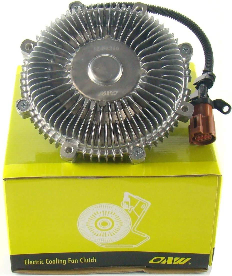 OAW 12-F3266 Electronic Cooling Fan Clutch for 09-10 Ford F150 F250 Lobo 4.6L 5.4L & 2009 Lincoln Navigator Expedition 5.4L
