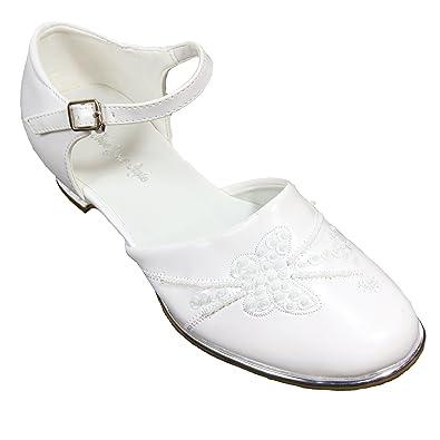 sports shoes def43 031dc Jung GmbH Festliche Kinderschuhe weiß Kommunionschuhe Mädchen Gr.40