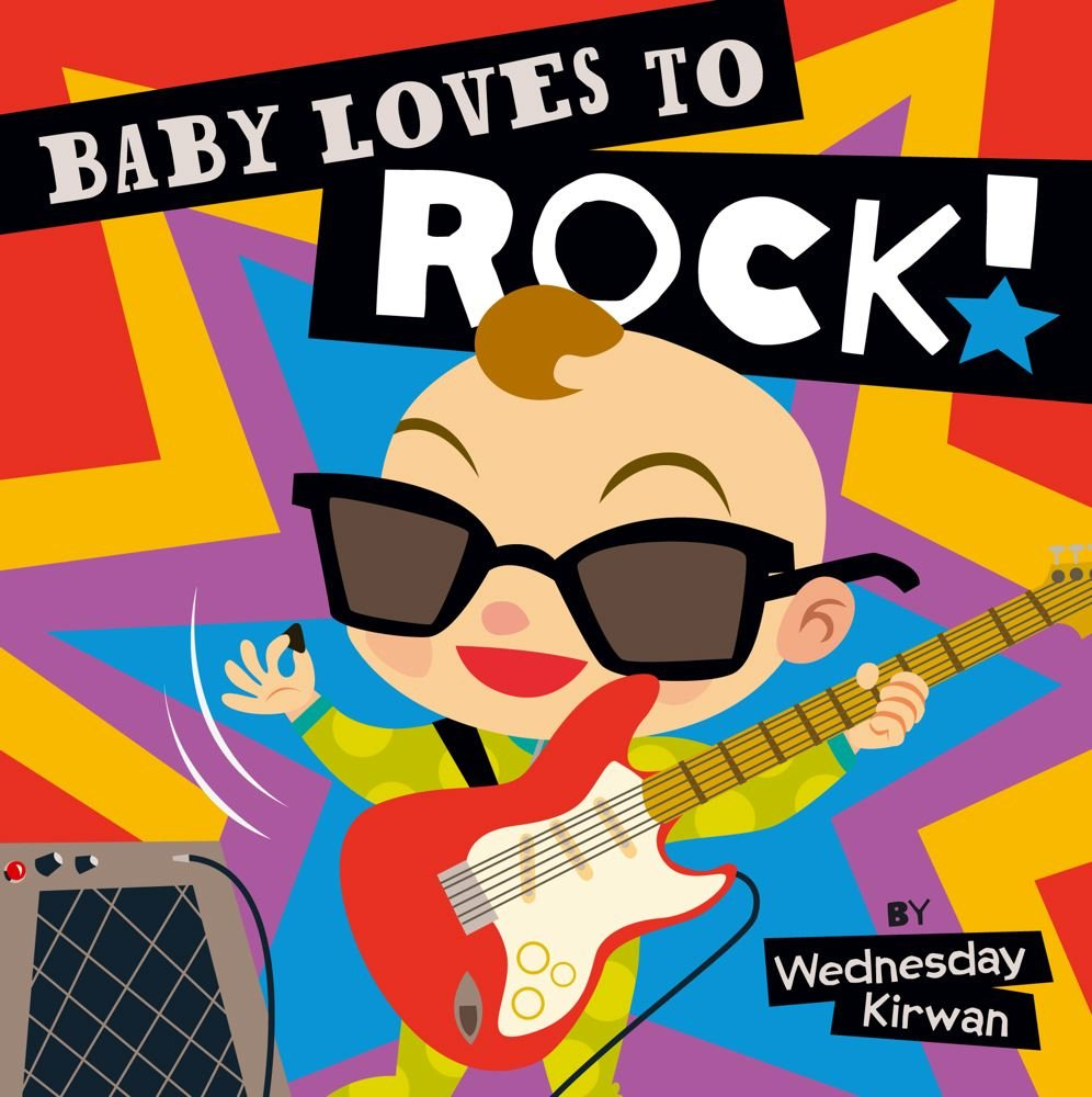 Baby Loves Rock Wednesday Kirwan product image
