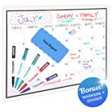Magnetic Dry Erase Monthly Calendar for