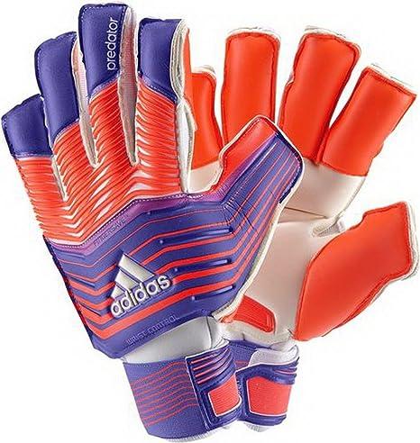 timeless design ebfb8 fcfa8 ... inexpensive adidas predator zones ultimate guanti per adulti da portiere  arancione blu rosso 6493b 091f5