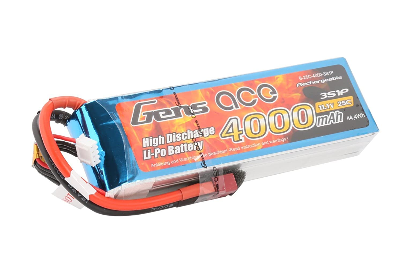 4000 mAh Lipo Batería Pack