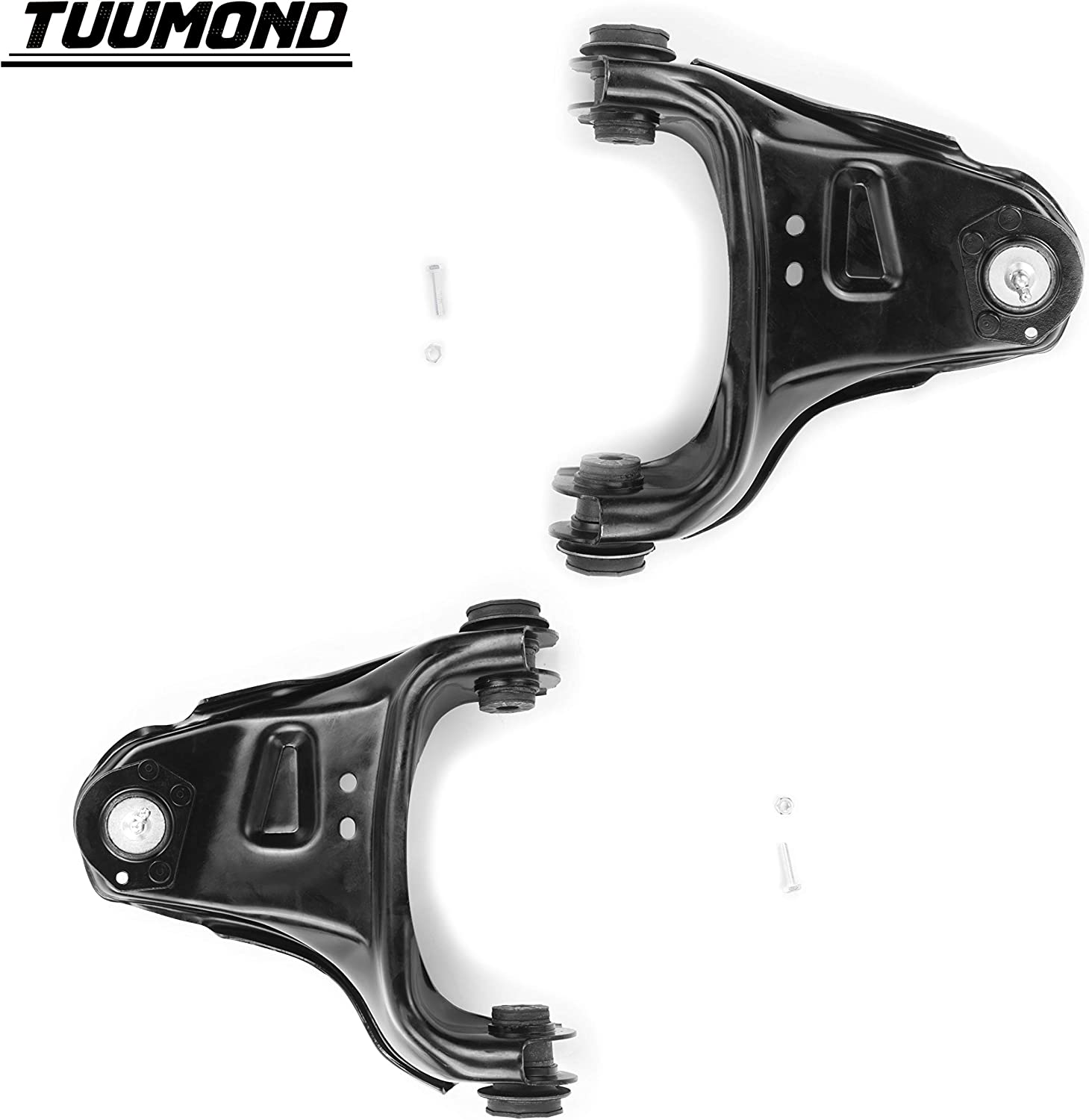 TUUMOND Front Upper Control Arm with Ball Joint for 1995 1996 1997 1998 1999 2000 2001 2002 2003 2004 2005 for Chevy Blazer; 1991-04 for GMC Sonoma; 98-00 for Isuzu Hombre K620172 K620173