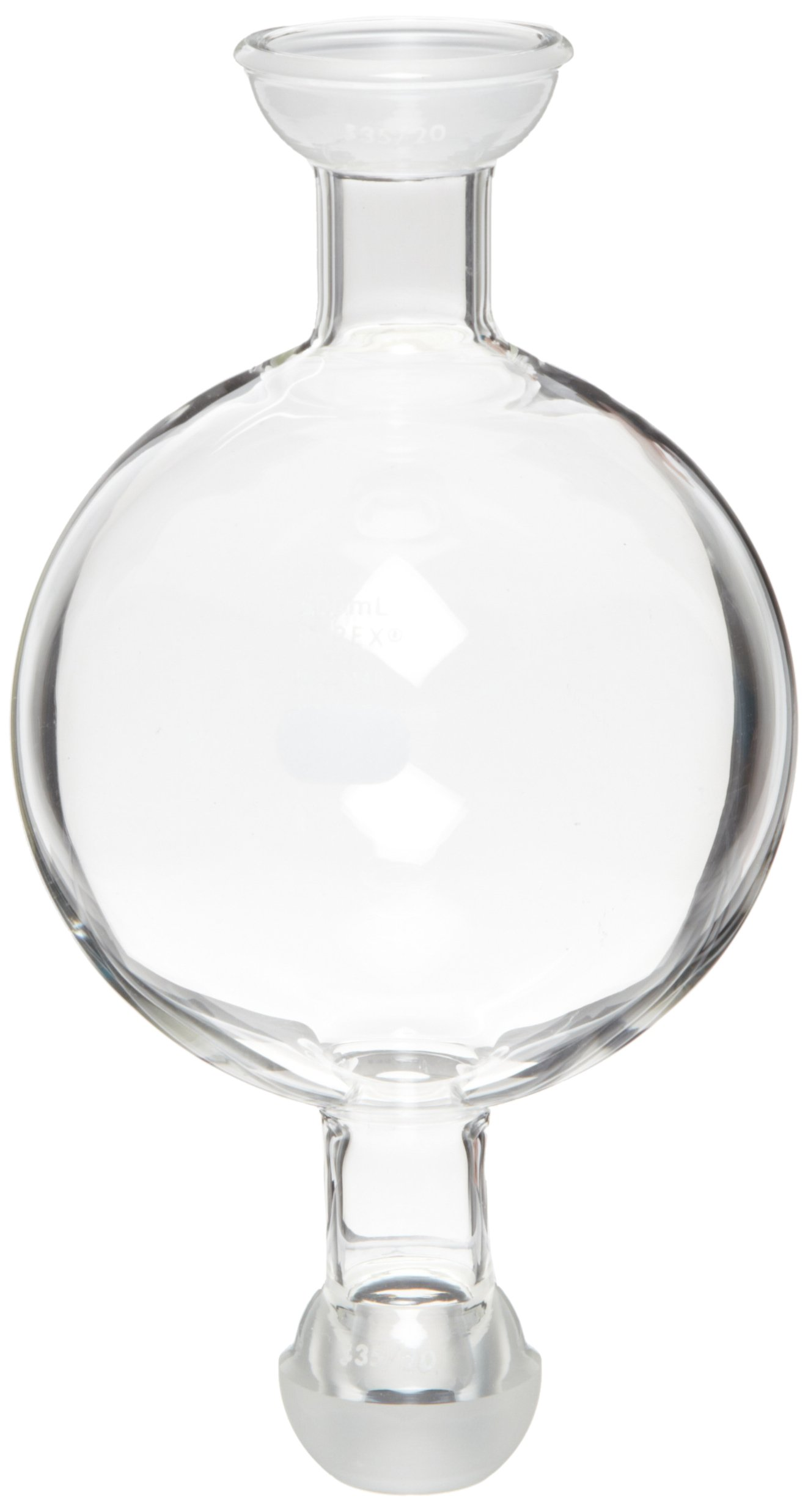 Corning Pyrex Borosilicate Glass Flash Chromatography Reservoir, 500ml Capacity