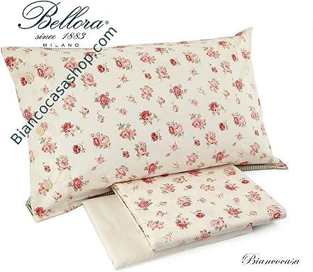 Copripiumino Bellora.Completo Copripiumino Matrimoniale Bellora White Linen Art Diana