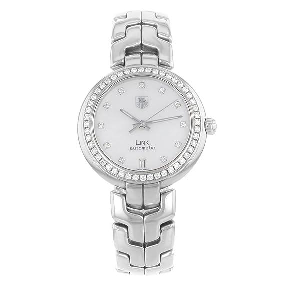TAG Heuer WAT2314.BA0956 - Reloj para mujeres, correa de acero inoxidable color plateado