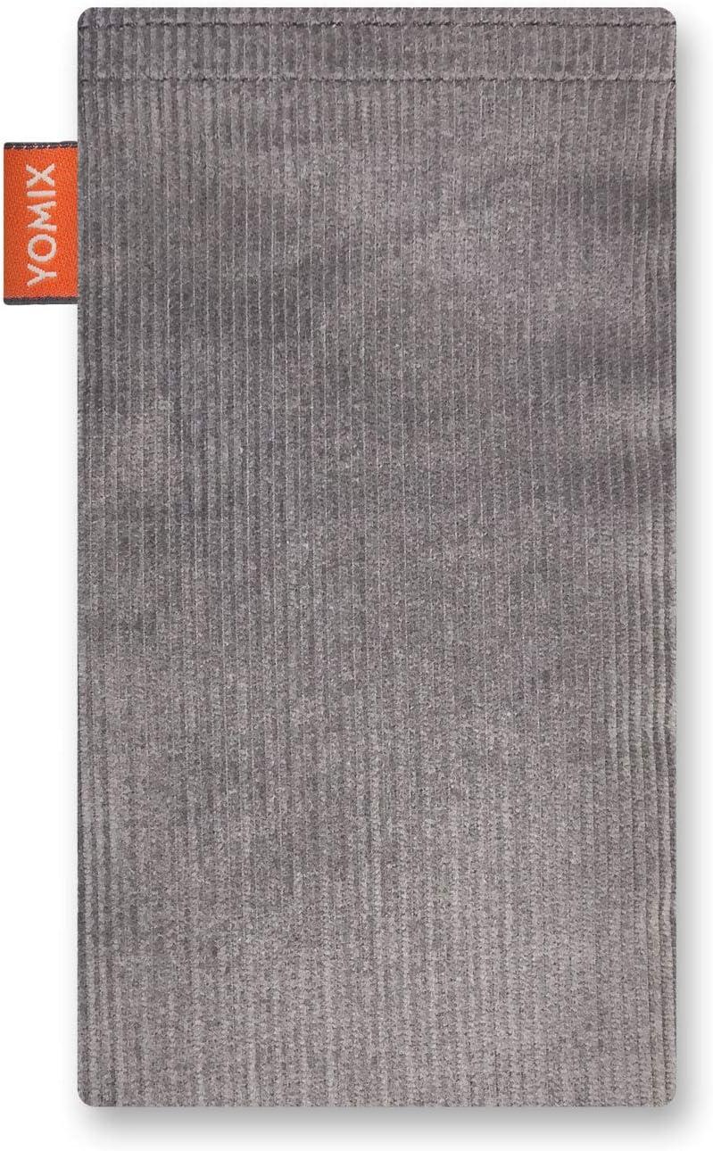 H/ülle mit Reinigungsfunktion Made in Germany YOMIX Emma mit Strahlenschutz Handytasche Tasche f/ür Huawei Mate 20 Pro aus beschichteter Baumwolle mit Microfaserinnenfutter