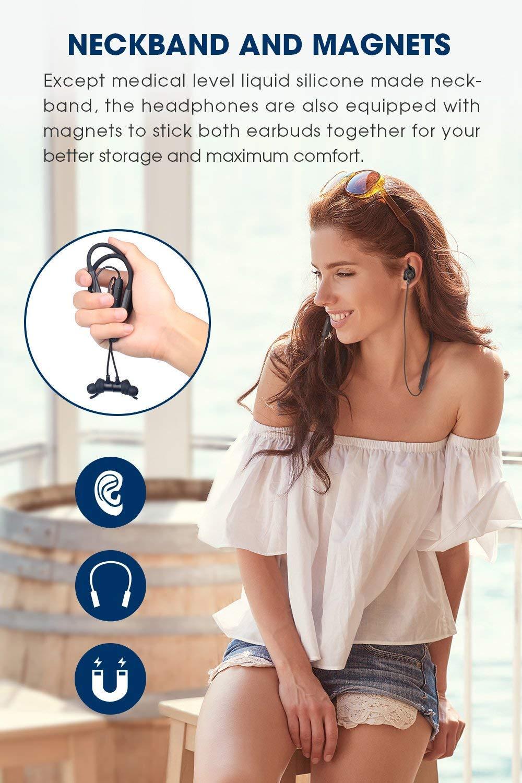 SoundPEATS Force Bluetooth Headphones Wireless Neckband