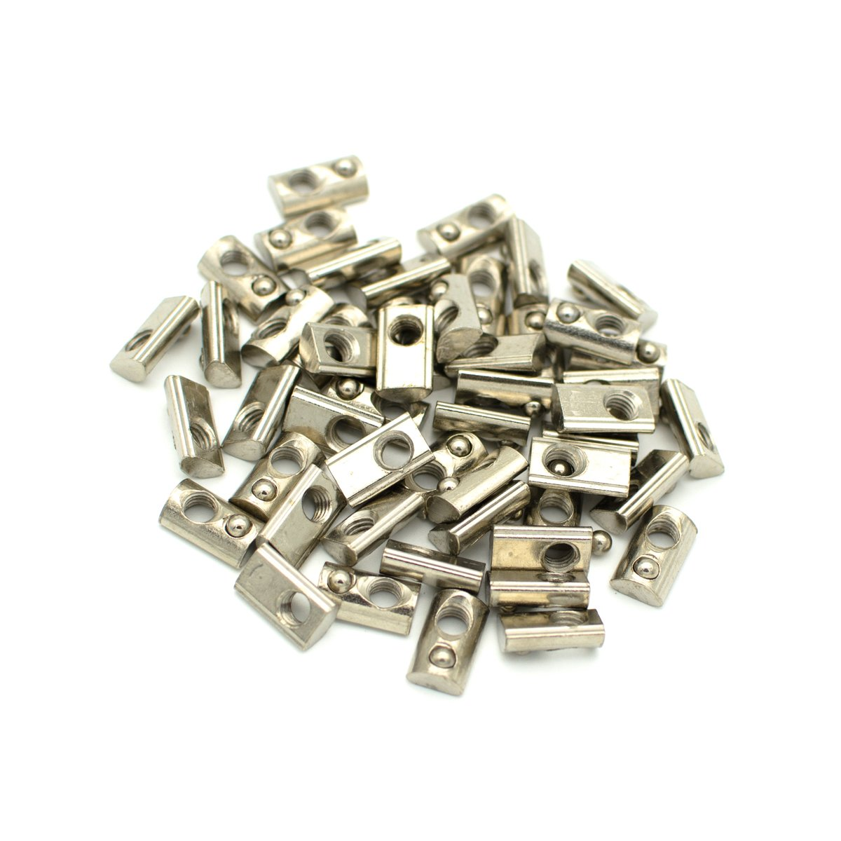Roll in Spring Loaded T Nut for 20mm Series Aluminum Extrusions Pack of 50 (M5) by TOPINSTOCK (Image #6)