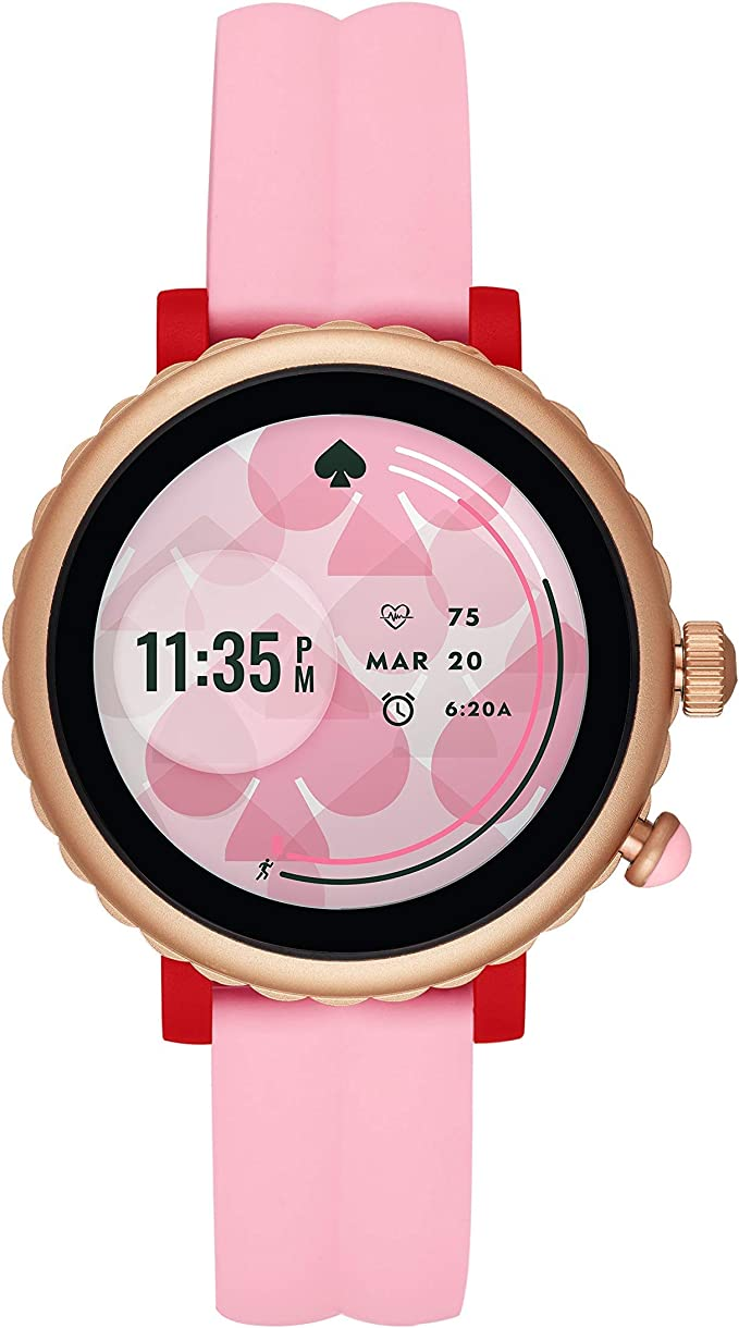 ejemplo de reloj inteligente para dama kate spade