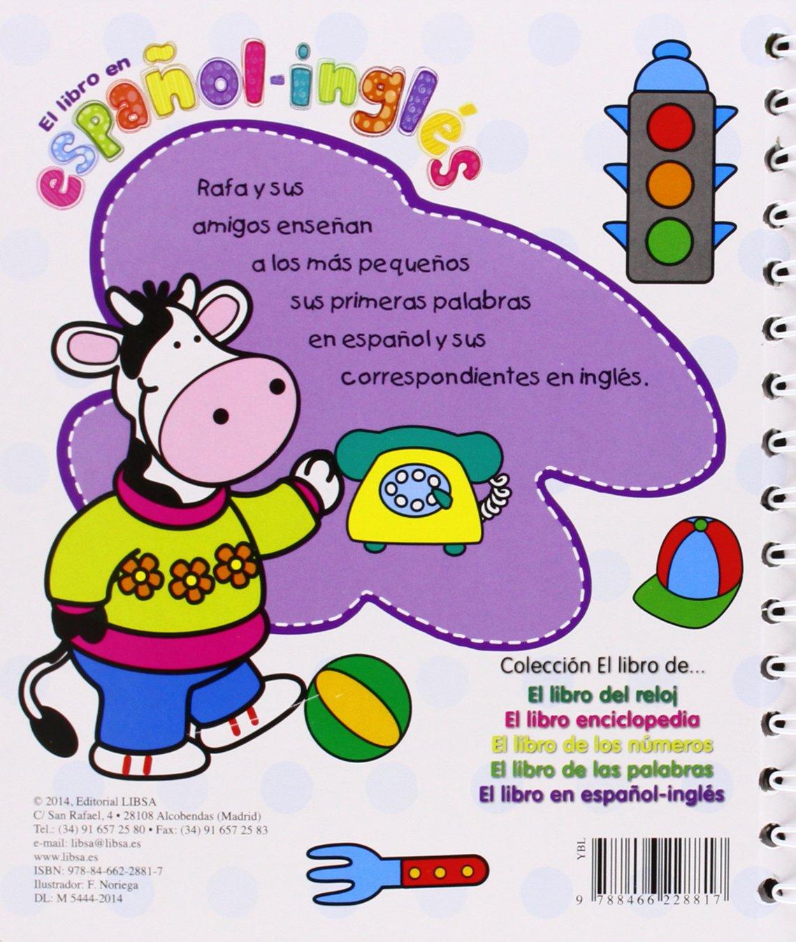 EL LIBRO EN ESPA�OL-INGLES- EL LIBRO DE....: Equipo Editorial: 9788466228817: Amazon.com: Books