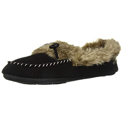 Amazon.com | Acorn Women's Cozy Faux Fur Moc Slipper | Slippers