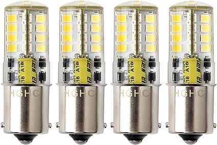 P21W Ba15s 1156 Bombilla LED,HRYSPN 12V 5W blanco frío 6000K 500LM ...