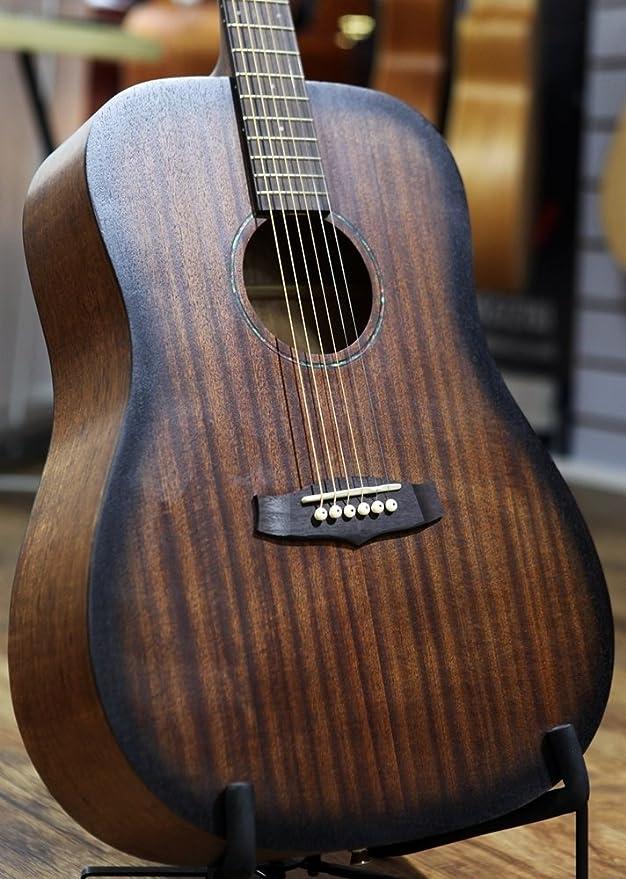 Tanglewood TWCRD Crossroads - Guitarra acústica, color caoba: Amazon.es: Instrumentos musicales