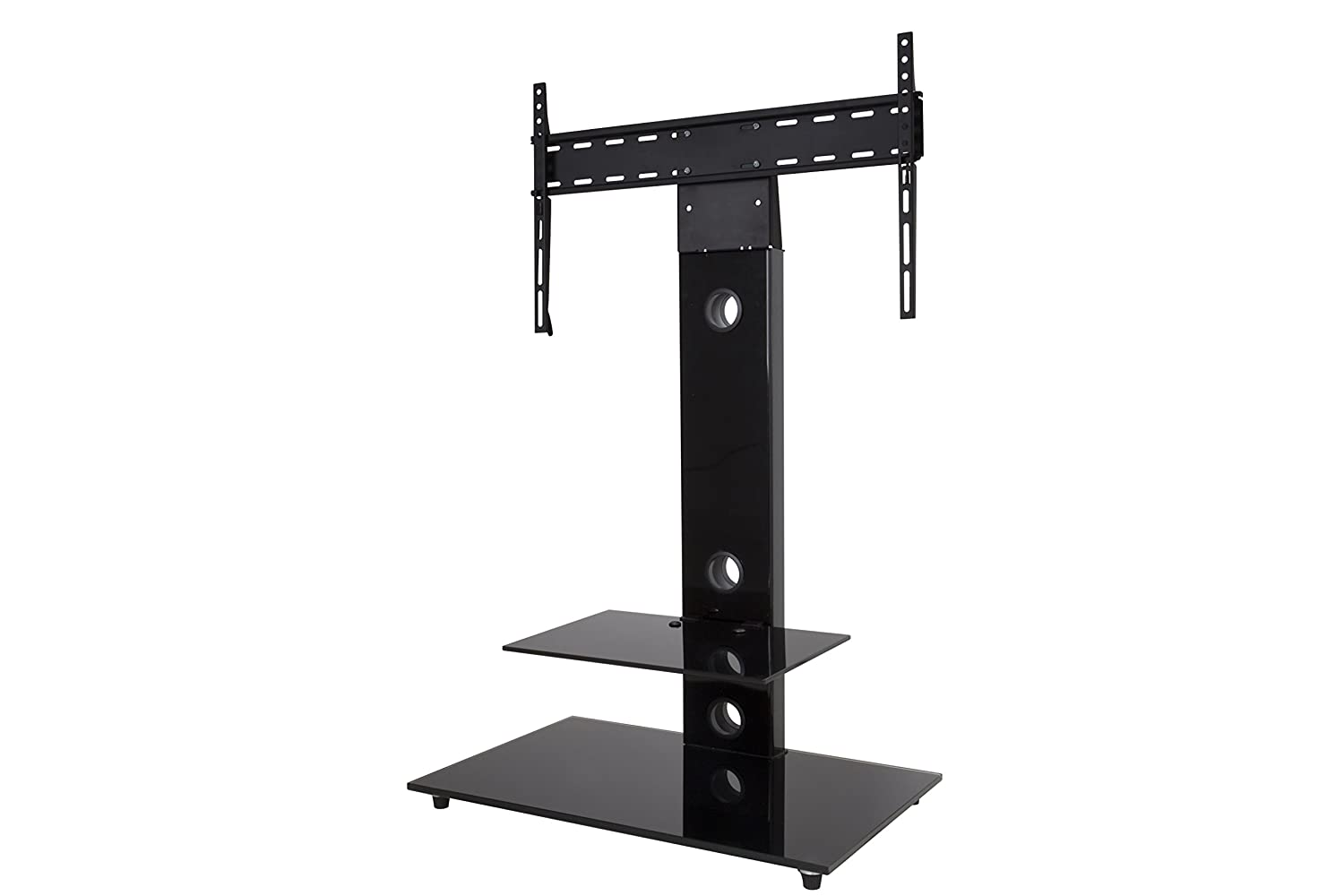 Floor tv stands for 55 inch flat screens - Amazon Com Avf Fsl700leb A Lesina Tv Floor Stand With Tv Mounting Column For 32 Inch To 65 Inch Tvs Black Home Audio Theater