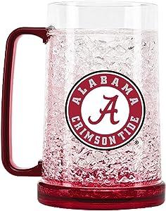 NCAA Alabama Crimson Tide 16oz Crystal Freezer Mug