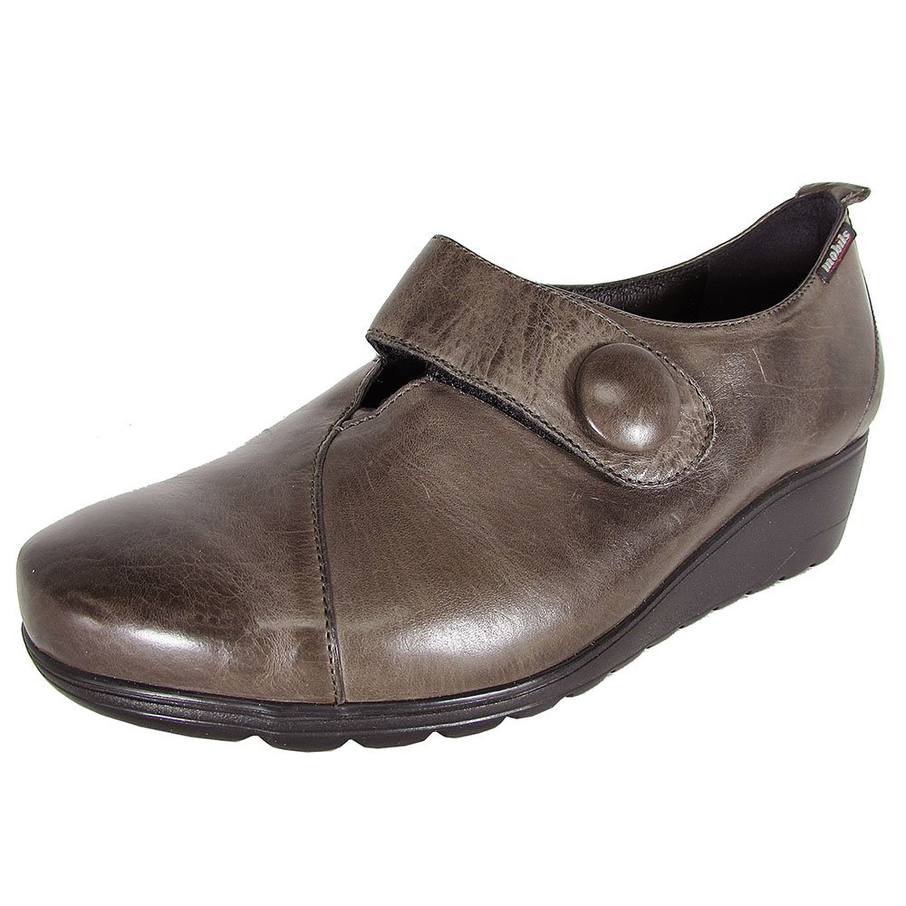 Mephisto Mobils Ergonomic by Womens Bonnie Wedge Shoes B0774SP2TS 8.5 B(M) US|Pewter