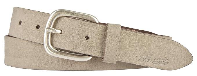 c3176603beab TOM TAILOR Damen Gürtel Damengürtel Leder Gürtel Ledergürtel 30 mm beige  taupe  Amazon.de  Bekleidung