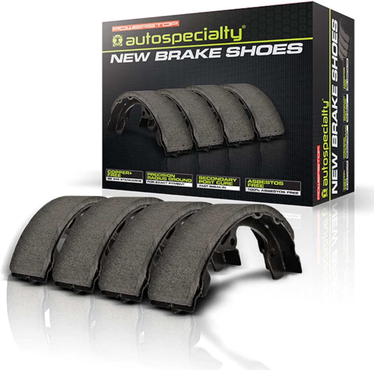Power Stop B992L Autospeciality Rear Brake Shoe