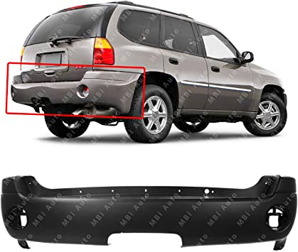 Primered Rear Bumper Cover Fits GMC Envoy XL Without Denali Package GM1100628