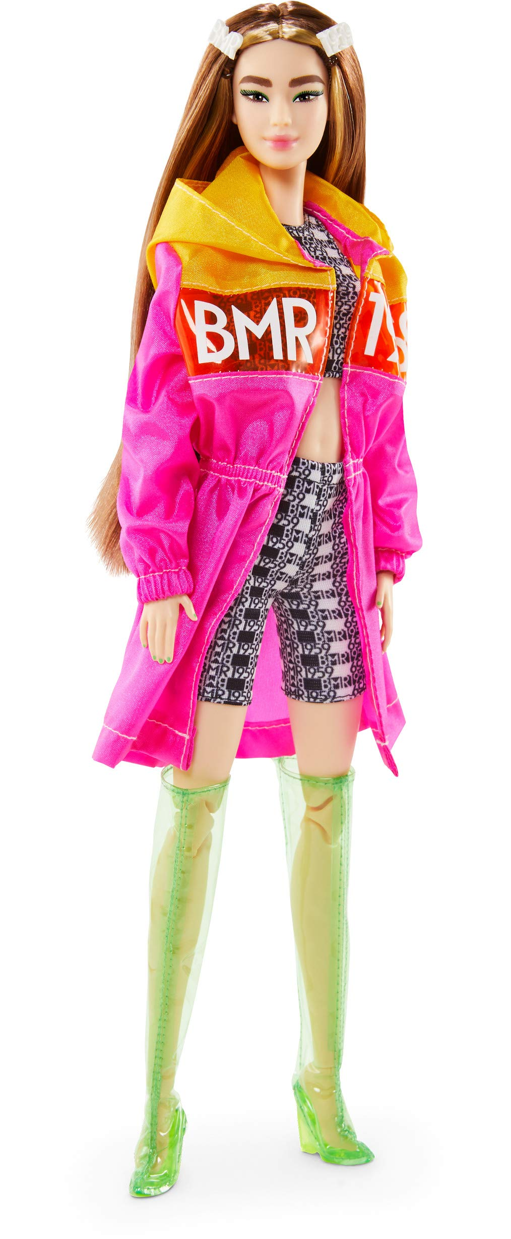 BMR1959 Fully Poseable Fashion Doll Tall Jacket, Shorts /& Vinyl Boots