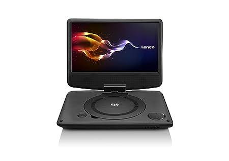 Lenco DVP-9331 tragbarer DVD-Player (22,9 cm (9 Zoll), USB, TFT, 180 ...