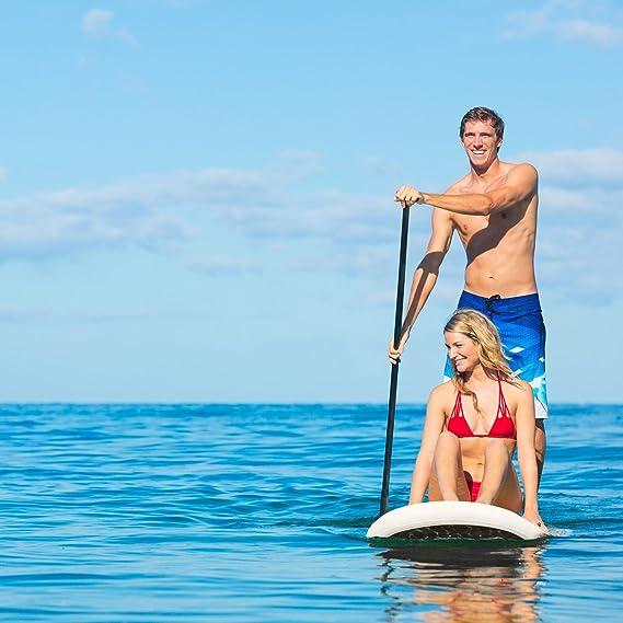 Klarfit Spreestar • Tabla de pie Hinchable • Paddleboard • Paddle Surf • Tabla Sup 300x10x71 cm • Bomba de Aire • Pala • Correa de Seguridad • Mochila de ...