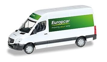 Mercedes Sprinter Europcar 2013 Model Car Ready Made Herpa 1 87
