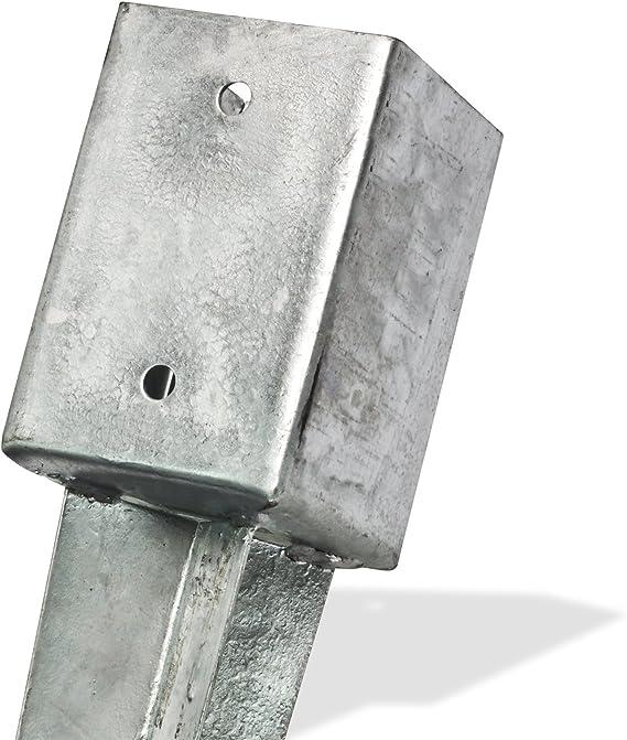 Einschlagbodenhülse Pfostenträger Einschlaghülse 91x91x135x750 Pfosten