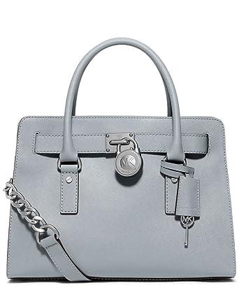 7fc6f6d5653f Michael Michael Kors Hamilton Saffiano Leather Medium Satchel: Handbags:  Amazon.com
