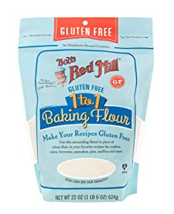Bobs Red Mill, 1 To 1 Baking Flour (Pack of 2)