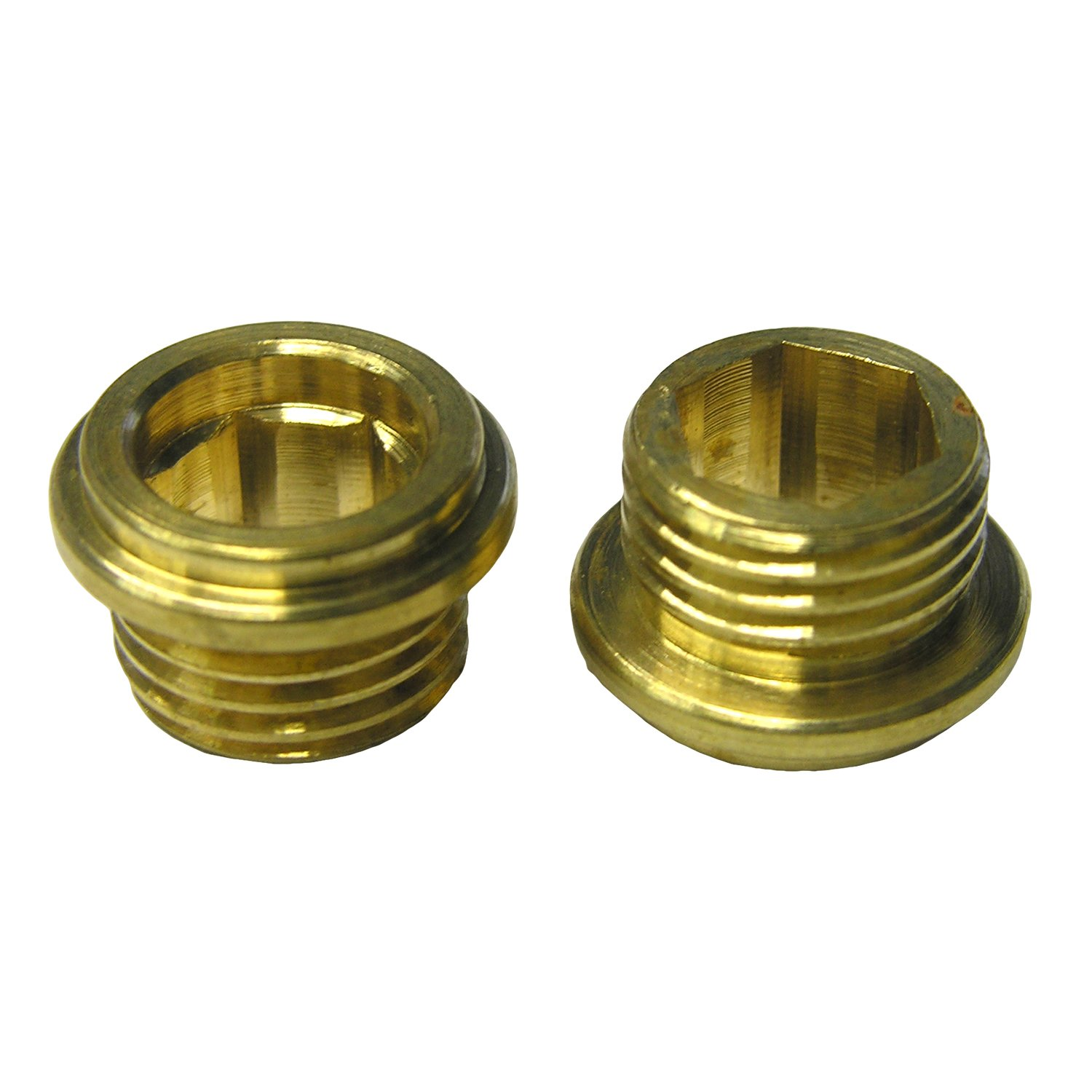 LASCO SB-58 1/2-Inch x 20 Thread Faucet Seat for American Standard Brand Faucets, 3/8-Inch, Brass, 2-Pack by LASCO