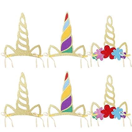 Amazon.com: bestoyard – Cuerno de unicornio gorro niños ...