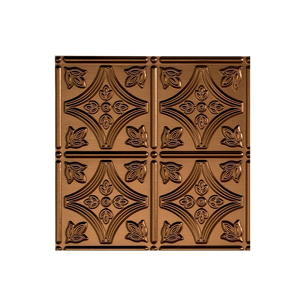 Fasade Easy Installation Traditional 1 Oil-Rubbed Bronze Glue Up Ceiling Tile / Ceiling Panel (2' x 4' Panel) by FASÄDE (Image #2)